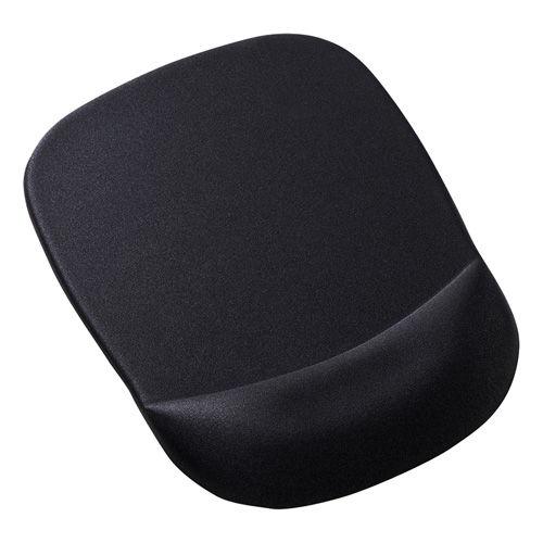 【売切れ御免】サンワサプライ 低反発リストレスト付きマウスパッド ブラック MPD-MU1NBK