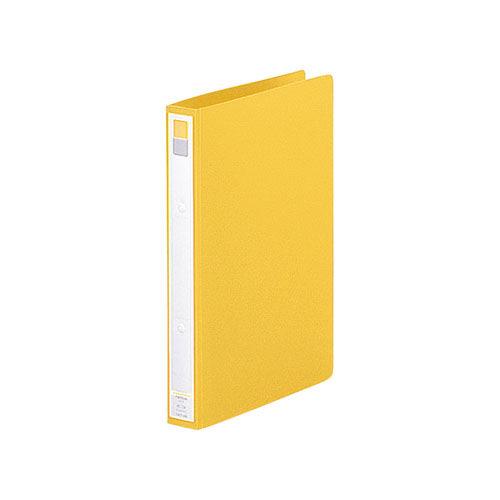 リヒト リングファイル A4タテ 36mm 黄