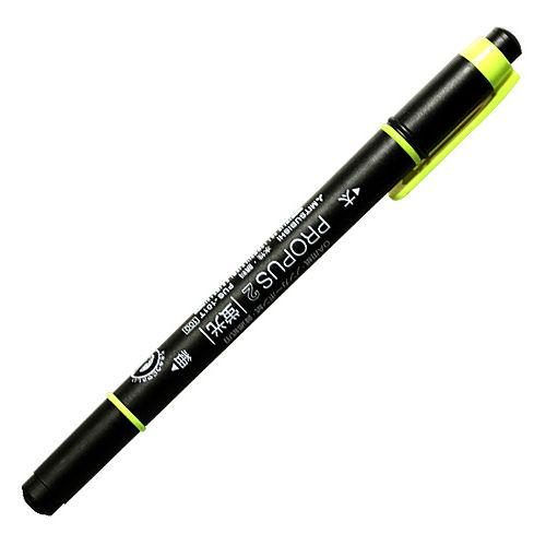 三菱鉛筆 蛍光ペン プロパス2 黄 PUS-101TN.2