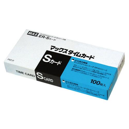 マックス タイムカード ER-Sカード 100枚 ER90060