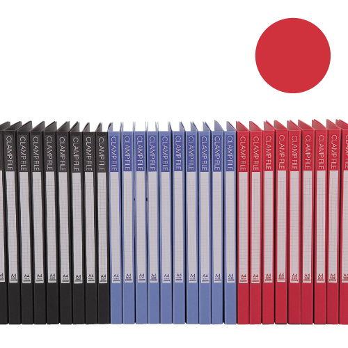 ビュートン エコノミーレバーファイル A4タテ レッド 10冊 SCL-A4-R