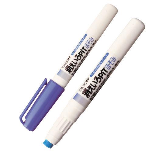 トンボ鉛筆 ペン型スティックのり ピット 消色ピットほそみ PT-PC