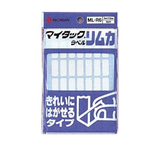 ニチバン マイタックラベル リムカ 10シート 350片 ML-R6
