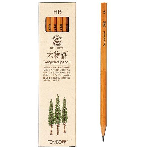 トンボ鉛筆 木物語 HB 1ダース LA-KEAHB