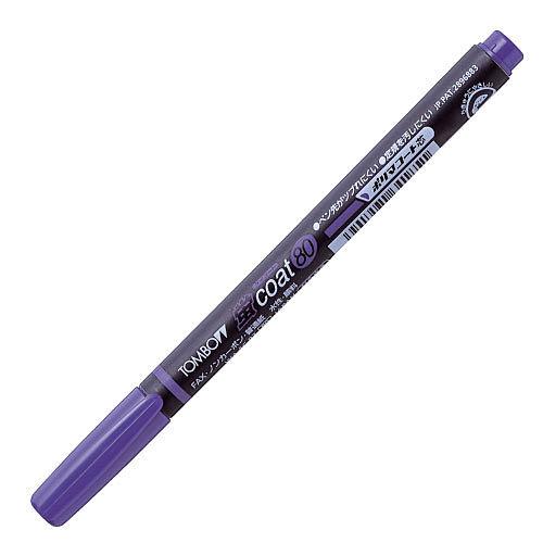 トンボ鉛筆 蛍光ペン 蛍コート80 紫 WA-SC97