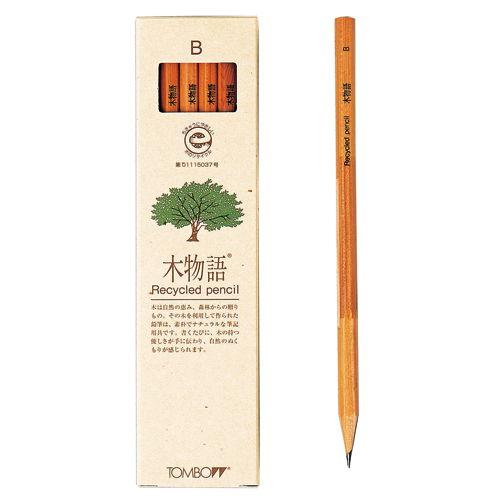 トンボ鉛筆 木物語 B 1ダース LA-KEAB
