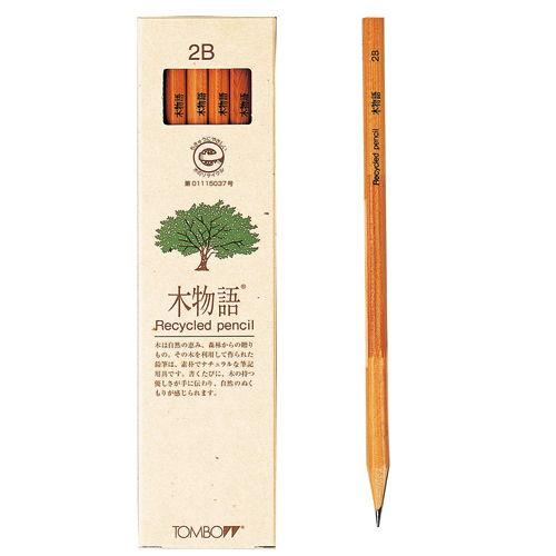 トンボ鉛筆 木物語 2B 1ダース LA-KEA2B