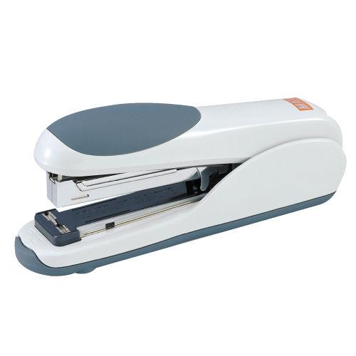 マックス ホッチキス 中型(フラットクリンチ) グレー HD-35DF