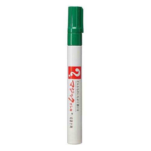 寺西化学 油性ペン マジックインキNo.500 細書 緑 M500-T4