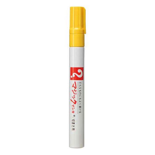 寺西化学 油性ペン マジックインキNo.500 細書 黄 M500-T5