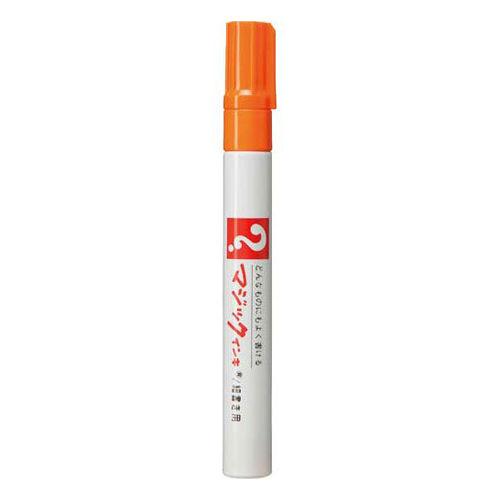 寺西化学 油性ペン マジックインキNo.500 細書 橙 M500-T7