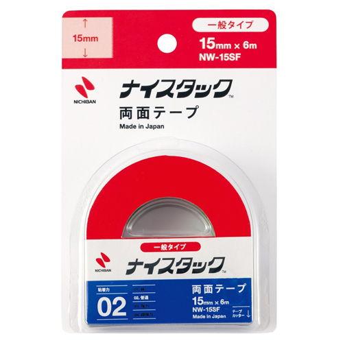 ニチバン 紙両面テープ ナイスタック 小巻 NW-15S
