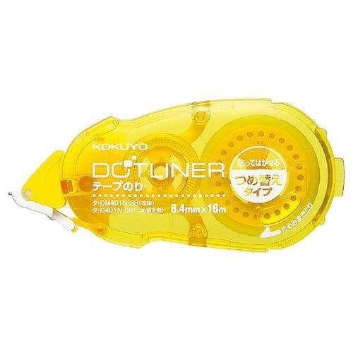 コクヨ テープのり ドットライナー 貼ってはがせる 交換カートリッジ タ-D401-08