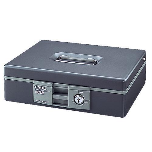 カール キャッシュボックス CB-8400-D グレー