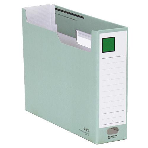 キングジム ボックスファイル Gボックス A4ヨコ 緑 4031
