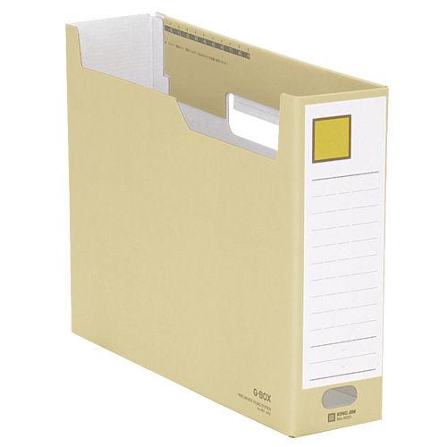 キングジム ボックスファイル Gボックス A4ヨコ 黄 4031