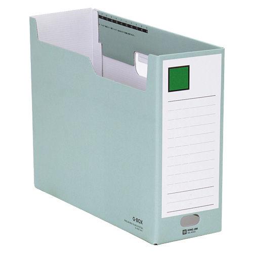 キングジム ボックスファイル Gボックス A4ヨコ 緑 4033ミト