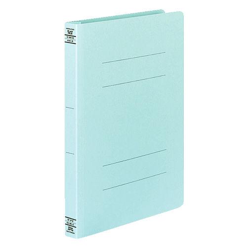 コクヨ フラットファイルW 厚とじタイプ A4タテ ブルー 10冊 フ-W10B