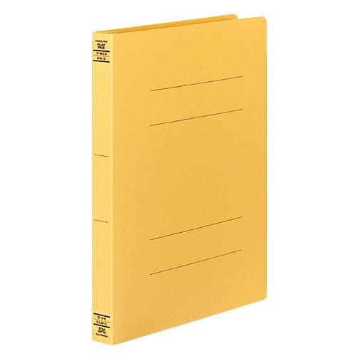 コクヨ フラットファイルW 厚とじタイプ A4タテ イエロー 10冊 フ-W10Y