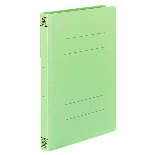 コクヨ フラットファイルW 厚とじタイプ A4タテ グリーン 10冊 フ-W10G