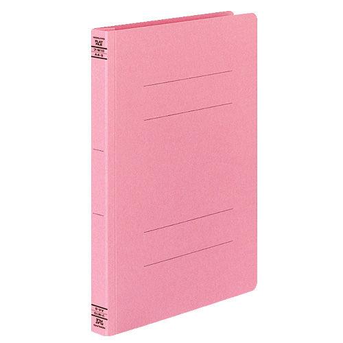 コクヨ フラットファイルW 厚とじタイプ A4タテ ピンク 10冊 フ-W10P