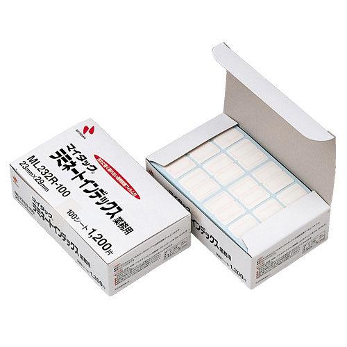 ニチバン ラミネートインデックスブンボックス 赤枠 ML-232R-100