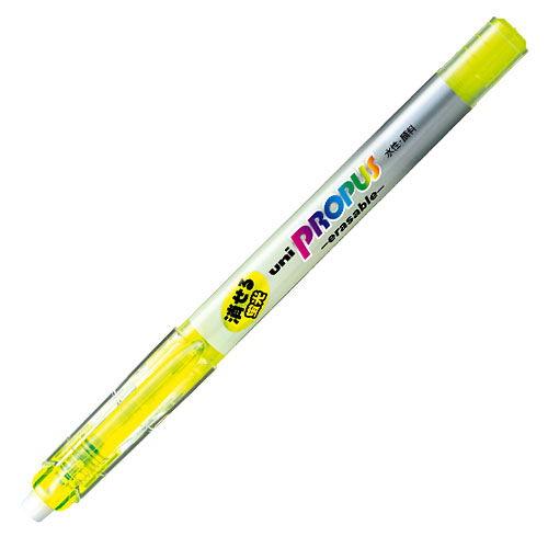 三菱鉛筆 蛍光ペン プロパス・イレサブル 黄 PUS-151ER.2