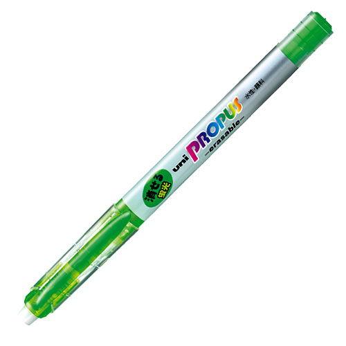 三菱鉛筆 蛍光ペン プロパス・イレサブル 緑 PUS-151ER.6