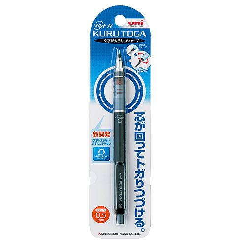 三菱鉛筆 シャープペンシル クルトガ スタンダードモデル ブラック M54501P.24