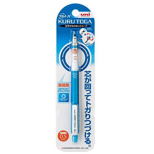 三菱鉛筆 シャープペンシル クルトガ スタンダードモデル ブルー M54501P.33