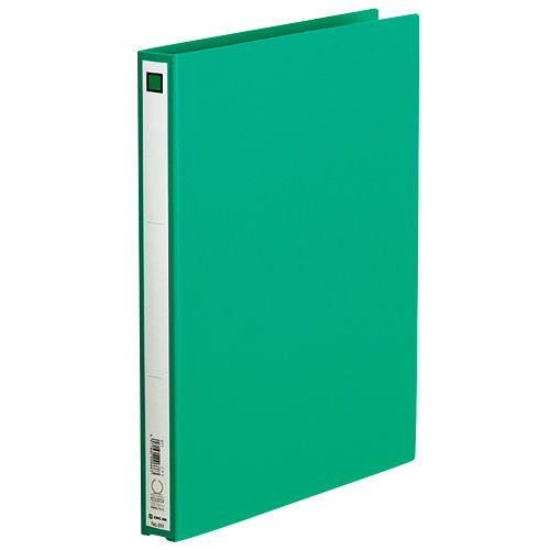 キングジム リングファイル エコノミータイプ A4タテ 緑 611ミト