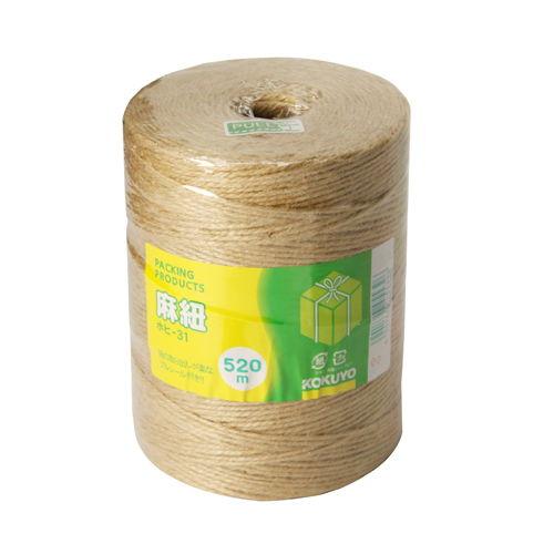 コクヨ 麻紐チーズ巻き 520m ホヒ-31