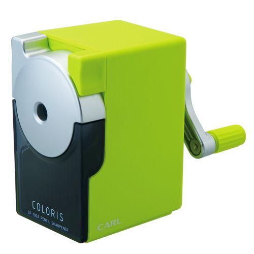 カール カラリス 鉛筆削り グリーン CP-100A-G
