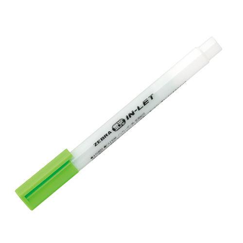 ゼブラ 蛍光ペン インレット 緑 WKS9-G