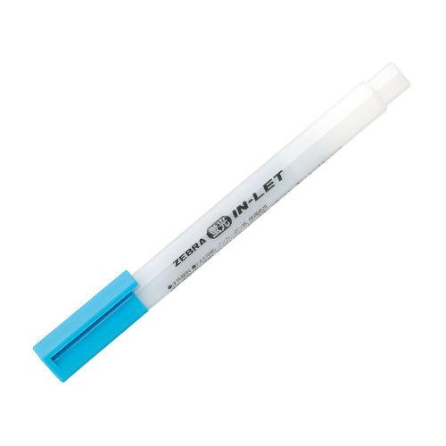 ゼブラ 蛍光ペン インレット 青 WKS9-BL