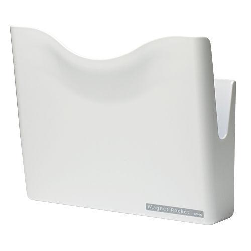 ソニック マグネットポケット 白 MP-447-W