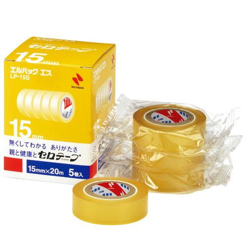 ニチバン エルパックエス 15mm 5巻 LP-15S