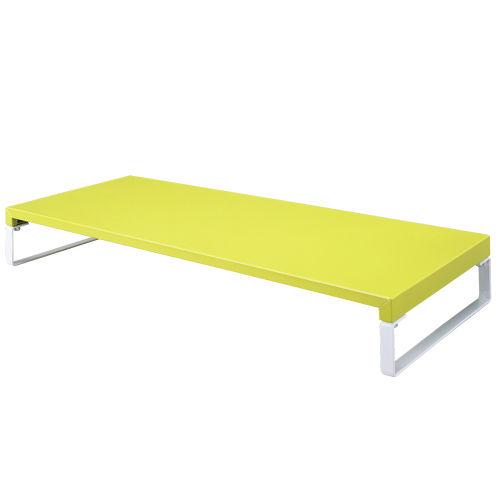 リヒトラブ 机上台 黄緑 A7332-6