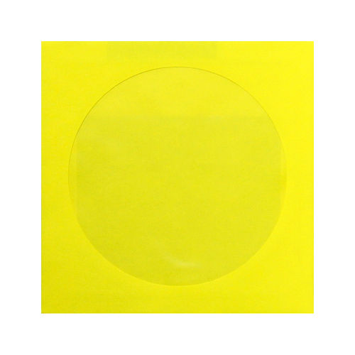 ELCOcolor CD封筒 25枚 ブライトイエロー 74641-72