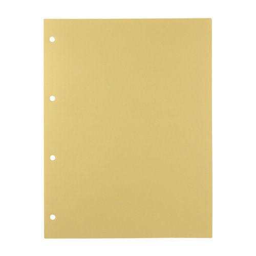 キングジム デラックス透明ポケット クリーム色台紙付 103D