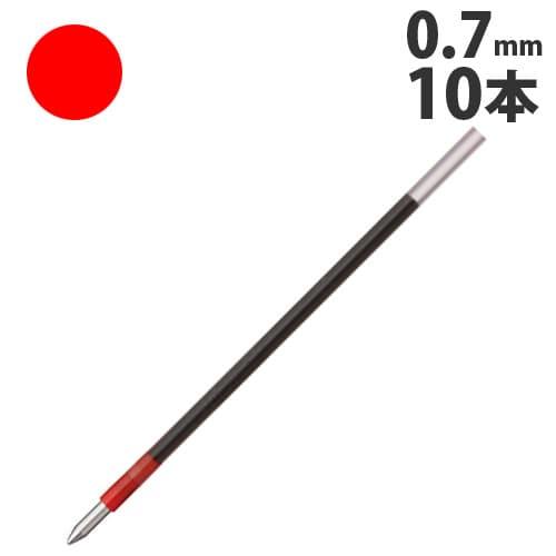 トンボ鉛筆 ボールペン替芯 赤 10本 BR-CL25