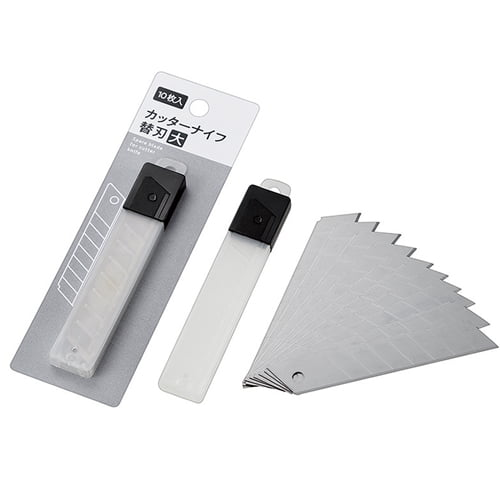 カッターナイフ用 替刃 大 10枚入 1147009