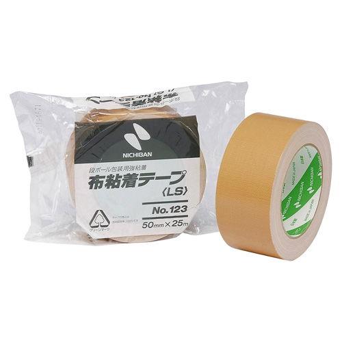 ニチバン 布粘着テープ 50mm×25m No.123 123LW-50