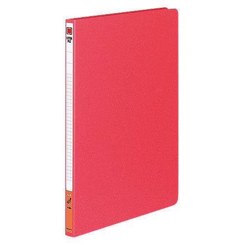 コクヨ レターファイル 色厚板紙 A4タテ 赤 フ-550R