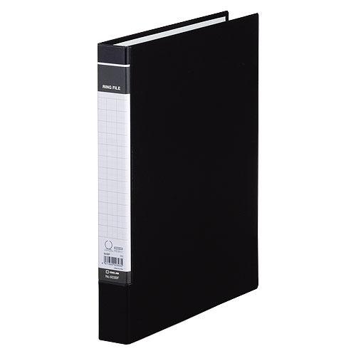キングジム BFシリーズ リングファイルBF A4タテ 黒 603BFクロ