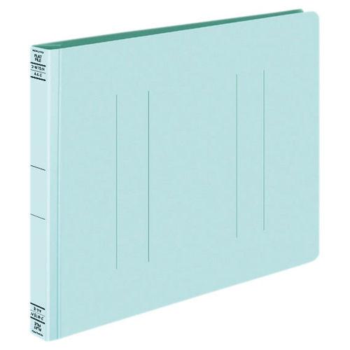 コクヨ フラットファイルW 厚とじA4ヨコ ブルー 10冊 フ-W15NB