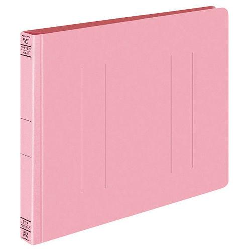 コクヨ フラットファイルW 厚とじ A4ヨコ ピンク 10冊 フ-W15NP