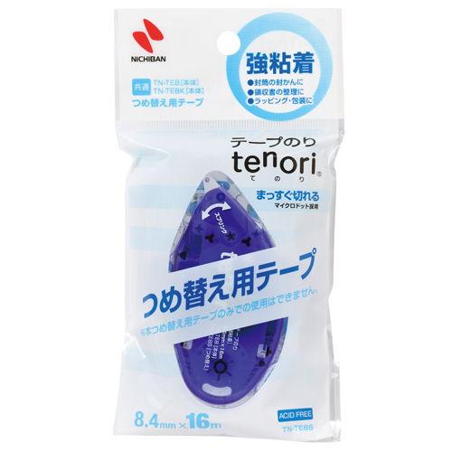 ニチバン テープのり tenori 強粘着 詰替用 TN-TE8S
