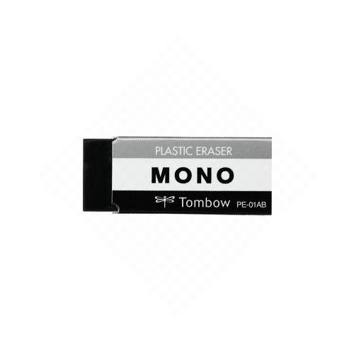 トンボ鉛筆 消しゴム MONO 小 ブラック 5個 PE-01AB