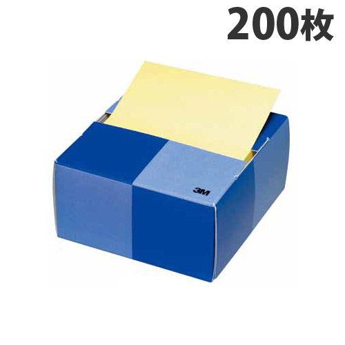 3M ボストイット ポップアップノート 紙箱入り イエロー 200枚 POP-200Y